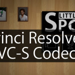 QuickTipp: XAVC-S Codec in Davinci Resolve importieren